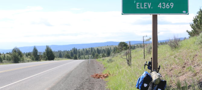 Day 9: Mitchell, OR to Prairie City, OR