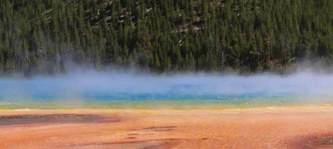 Day 23: Baker's Hole Campground, MT to Madison Campground, Yellowstone National Park, WY
