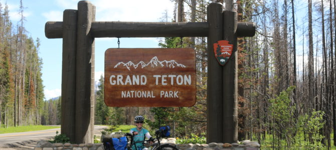 Day 24: Madison Camground, Yellowstone, WY to Colter Bay Campground, Grand Teton, WY
